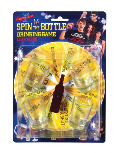 Spin Bottle Drinking Game Hen Stag Party Gadget Gift